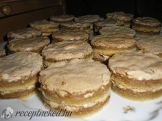 Hungarian Desserts, Hungarian Cake, Hungarian Recipes, Nutella, Sweet And Salty, Cake Cookies, Bakery, Dessert Recipes, Food And Drink