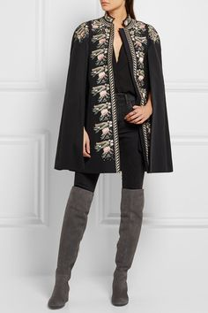 Gianvito Rossi - Suede Over-the-knee Boots - Gray