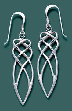Celtic Cascade Earrings from celticmerchant.com