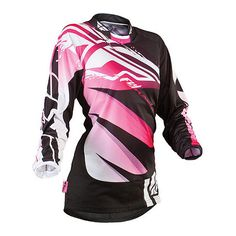 2013 Fly Girl's Kinetic Jersey with Purple/Yellow