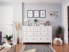 Wide Chest Of Drawers, Small Drawers, Living Room Decor, Bedroom Decor, Bedroom Inspo, Bedroom Ideas, Kitchen Dresser, Georgian Homes, Couple Bedroom