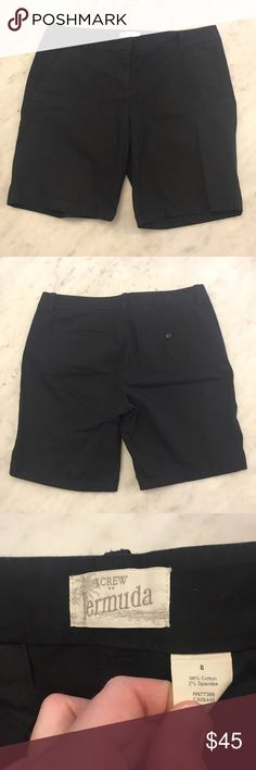 🌹SALE🌹J. Crew black Bermuda shorts These are in good used condition. These are a size 8. Super cute black Bermuda shorts. Get them just I. Time for warmer weather. J. Crew Shorts Bermudas