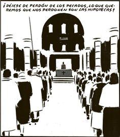 El perdon de las hipotecas. Por #elRoto.