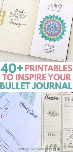 More FREE BULLET JOURNAL PDF PRINTABLES & TEMPLATE PAGES. Budget tracker fitness tracker sleep tracker log house projects cleaning meal planning birthday tracker movie tracker tv show tracker reading list t Free Bullet Journal Printables, Bullet Journal How To Start A, Journal Template, Bullet Journal Junkies, Bullet Journal Layout, Free Printables, Bullet Journals, Bullet Journal Birthday Tracker, Printable Templates