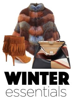 """""""Winter Essentials"""" by kathy-15 ❤ liked on Polyvore featuring BLANCHA, Aquazzura and Fendi"""
