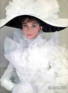 Audrey Hepburn by Cecil Beaton for publicity of My Fair Lady in 1964.