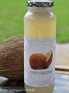 Przepis na syrop kokosowy