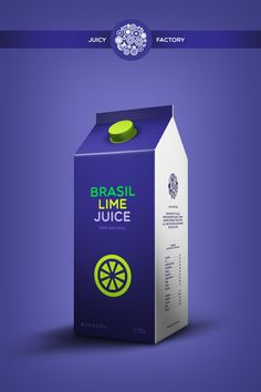 JUICY FACTORY by simon spring, via Behance