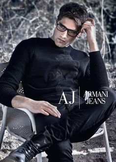 Fabio Mancini for Armani Jeans Fall Winter 2014.15
