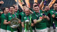 Watch the the moment Ireland win the Grand Slam title after a convincing Six Nations win over England on St Patrick's Day. Six Nations Rugby, Ireland Rugby, Irish Rugby, Australian Football, England Ireland, Rugby Players, Sexy Men, Soccer, Celebrities