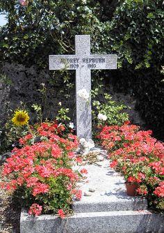Grave of Audrey Hepburn, Tolochenaz, Switzerland - 20080711 - Tolochenaz - Wikipedia, the free encyclopedia