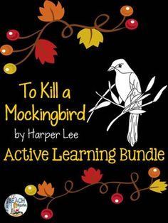 Get your students engaged with active learning! This bundle includes five lessons and activities to excite your students about their reading of the novel To Kill a Mockingbird by Harper Lee. Drama Activities, Learning Activities, Teaching Ideas, Teaching Tools, Teaching American Literature, Teaching English, Middle School Literature, English Lessons, Gcse English