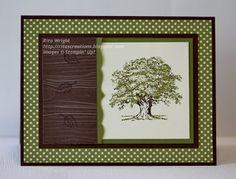 Some great cards using Stampin' Up!'s Lovely as a Tree