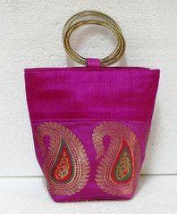 Purple colour  Designer Clutches : Tejal Collection -  YF-40828