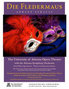 """Die Fledermaus"" by Johann Strauss II. The University of Arizona Opera Theater."