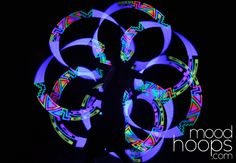 Future Poi - MoodHoops Poi $299 the effect is really nice, a beautiful future for poi