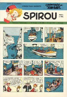 1951 - Spirou et Fantasio / Robbedoes en Kwabbernoot - Le journal de Spirou / Robbedoes weekblad. Publication Spirou / Robbedoes.