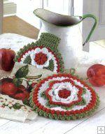 Towel Toppers and Potholders [LA5733] - $9.99 : Maggie Weldon, Free Crochet Patterns