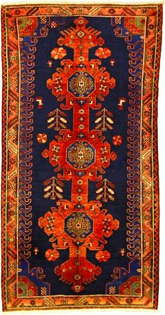 navy Makes the amber-copper-orange a beautiful Rug. Red Rugs, Carpet, Red Carpet Runner, Persian Rug Designs, Carpet Runner, Rugs, Beautiful Rug, Area Rugs