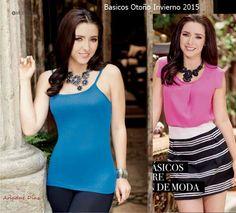 Ariadne Diaz, Moda Club 2015 Basicos OI Ariadne Diaz, Moda Club, Outfits, Tank Tops, Women, Fashion, Templates, Vestidos, Fall Winter 2015