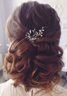 Tonya Pushkareva Long Wedding Hairstyle for Bridal via tonyastylist/ http://www.himisspuff.com/long-wedding-hairstyle-ideas-from-tonya-pushkareva/27/