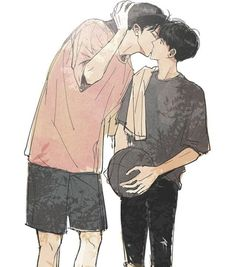 Chanbaek Fanart Kiss