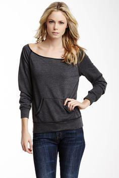 Lolly Off the Shoulder Sweatshirt on HauteLook