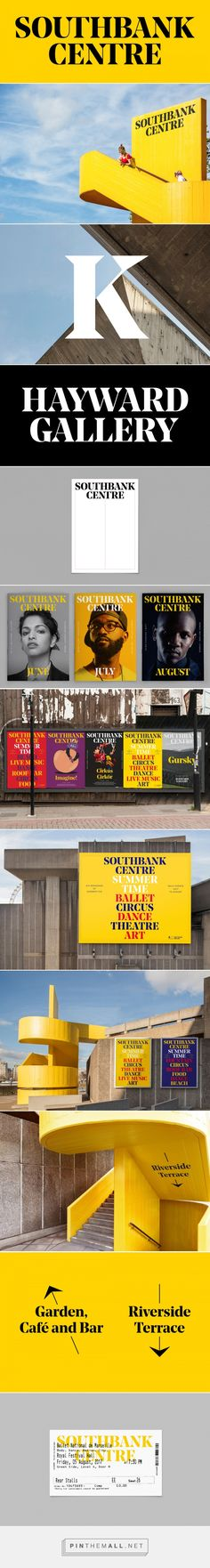 Brand New: New Logo and Identity for Southbank Centre by North - created via https://pinthemall.net
