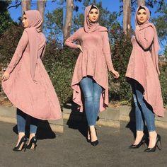 hijab-with-tight-jeans 30 Modern Ways to Wear Hijab - Hijab Fashion Ideas Modern Hijab Fashion, Muslim Women Fashion, Hijab Fashion Inspiration, Modest Fashion, Look Fashion, Fashion Outfits, Fashion Ideas, Arab Fashion, Stylish Dresses For Girls