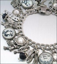 wizard of oz jewelry | OZ Charm Bracelet, Wizard of OZ Jewelry, Glinda Jewelry, Wizard of Oz ...
