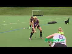 A drill to improve your receiving, passing and movement skills - YouTube
