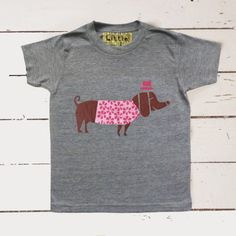 sausage-dog-marl-grey-t-shirt-flat