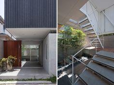yaita associates patio house designboom