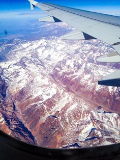 #airplane #andes #mountains #airplane #airplanewindow