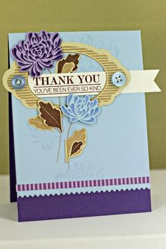 Ever So Kind Card by Erin Lincoln for Papertrey Ink (August 2013)