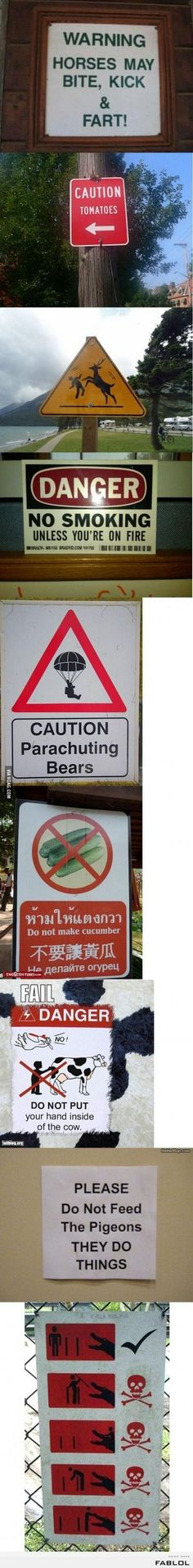 What it says On the Sign (20 Pics)