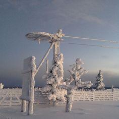 """""""Frozen"""" in lappish style.  Levi, Lapland. Explore your dream adventure   Jäätynyt lumimaailma hämmästyttää kulkijaa upeilla luomuksilla. Bongaa sieki jäätävin lumiluomus #breaklevi  #sokoshotels @sokoshotels #LeviLapland #skilevi #SeToinenLevi #winterwonderland #skiing #snowboarding #visitfinland #fantastic_earth #beautifuldestinations #exploreeverything #finland #thisisfinland #travelphotography #thegreatoutdoors #getoutstayout #lapland #igscandinavia #awesomeearth #winter #talvi"""