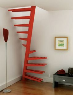compact stair ideas | Compact Staircase Spiral