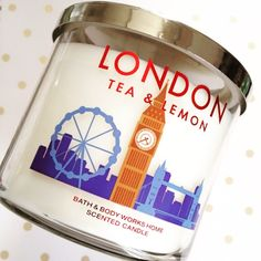Bath and Body Works - London Tea and Lemon Candle