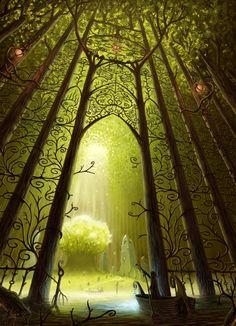 Fairy doors. #portals #doors #gates #fantasy