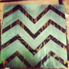 Chevron pattern pic.