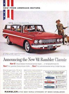 1961 Rambler Classic Custom Cross Country Station Wagon