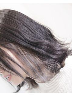 ミネット(minette) ☆インナーカラー☆ホワイトラベンダー