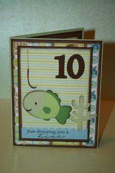 Handmade Birthday cards for Boys