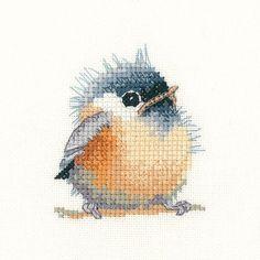 Chickadee Cross Stitch Kit | sewandso