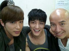 Jaejoong, Jin Yi Han, and Hong Suk Chun Make a Friendly Trio in Recent Selca