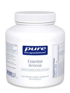 Pure Encapsulations- Essential Aminos 180 vegcaps