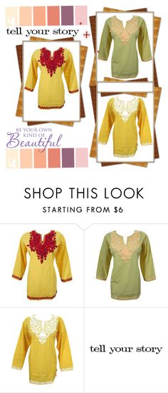BOHO ETHNIC TUNIC TOPS by baydeals on Polyvore featuring Tim Holtz
