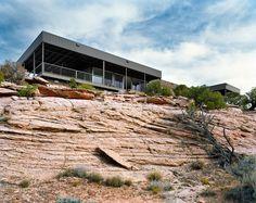 Hidden Valley prefab house, Moab UT 2007 | Marmol Radziner Prefab
