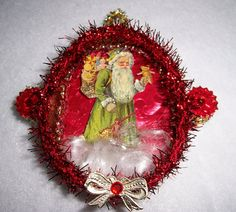 VictorianStyle Christmas Ornament with by TSUSENCOLLECTIBLES, $18.99